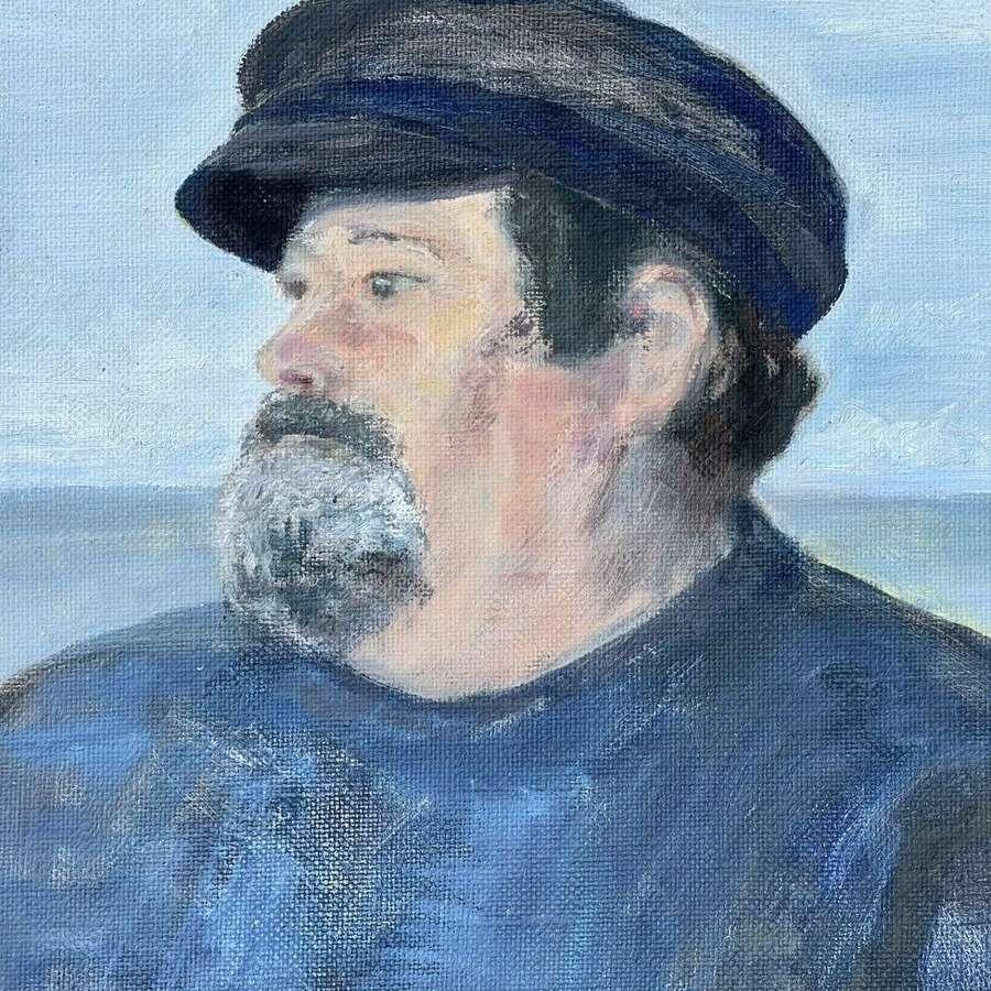 Cornish fisherman portrait